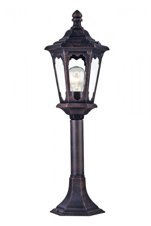 Stalpisor iluminat exterior Oxford Negru H584mm imagine 2021 insignis.ro