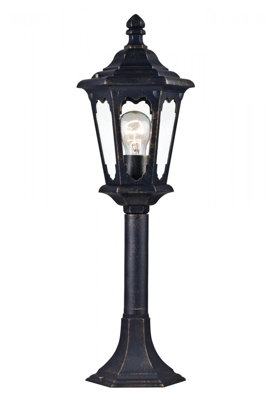 Stalpisor iluminat exterior Oxford Bronz H584mm imagine 2021 insignis.ro