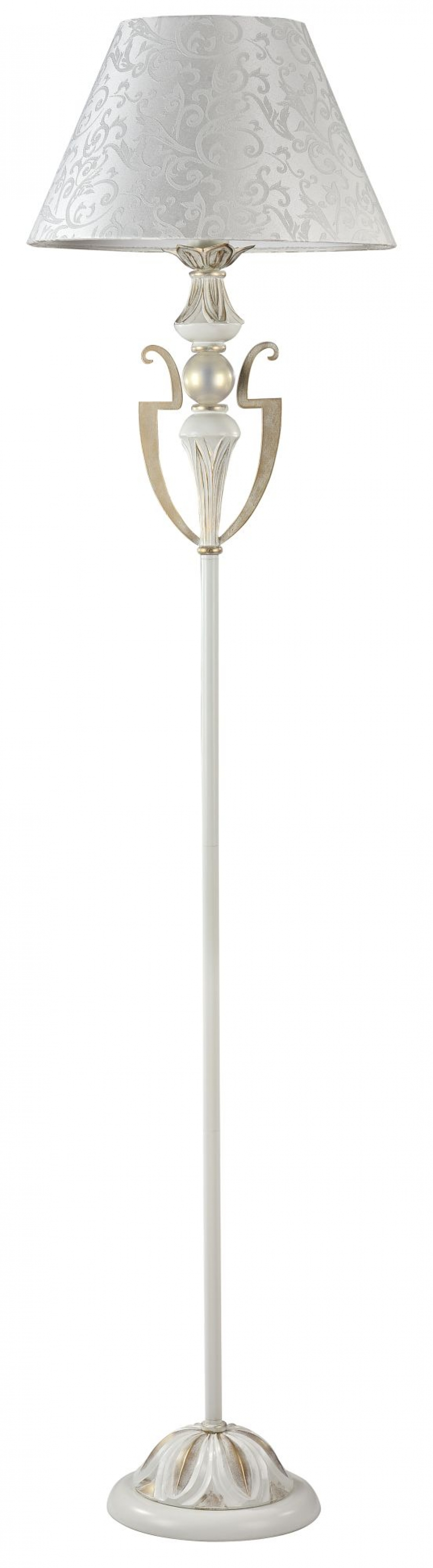 Lampa de podea Monile Alb/Auriu H1600mm imagine 2021 insignis.ro