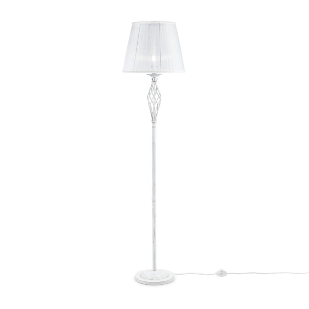 Lampa de podea Grace Alb/Auriu H1650mm imagine 2021 insignis.ro