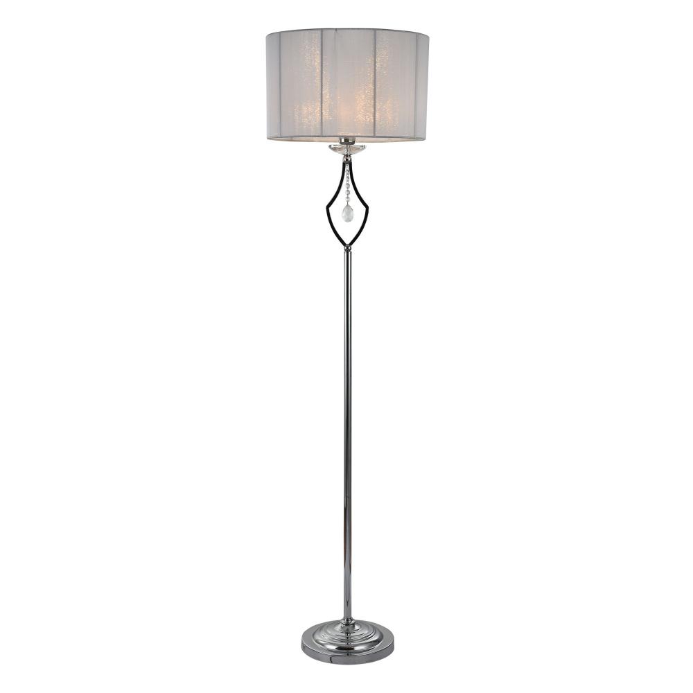 Lampa de podea Miraggio Crom H1660mm imagine 2021 insignis.ro