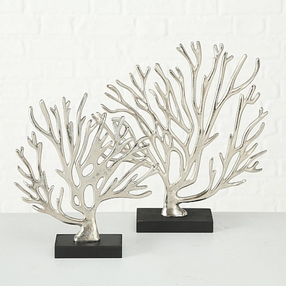 Set 2 ornamente decorative Koralle imagine 2021 insignis.ro