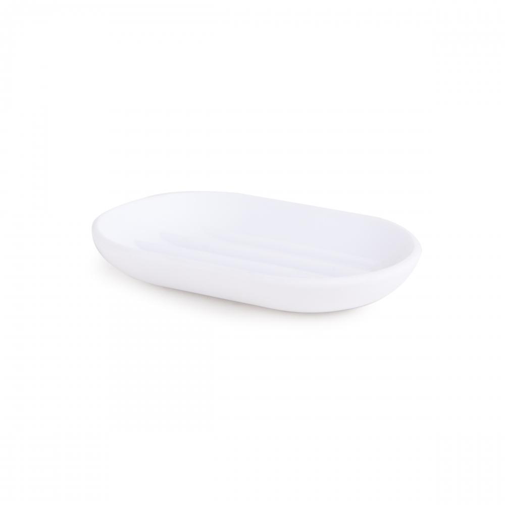 Savoniera ovala alba Touch H2cm imagine 2021 insignis.ro