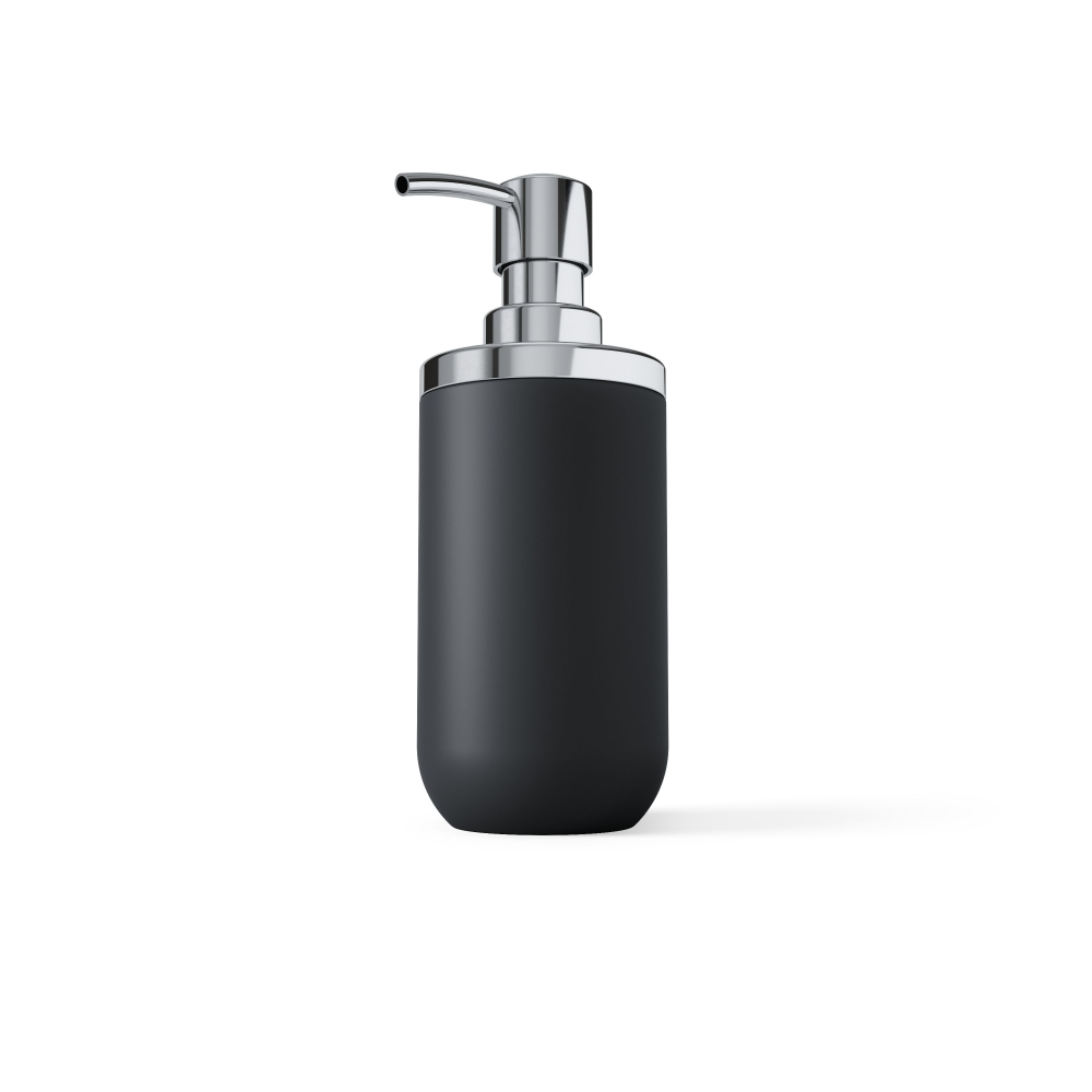 Dispenser sapun 300ml negru Junip H18cm imagine 2021 insignis.ro