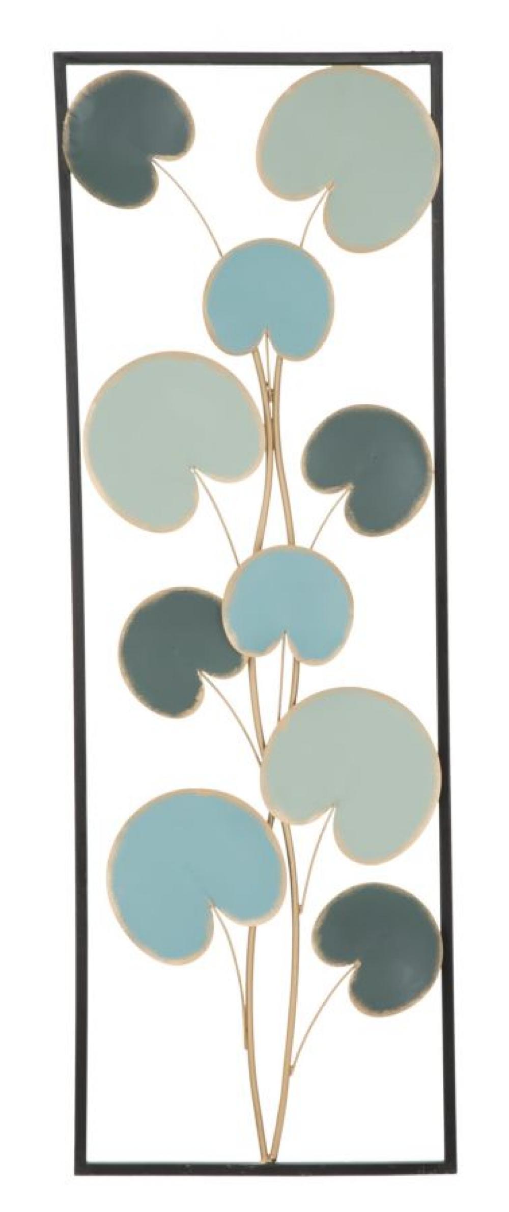 Decoratiune metalica de perete Monal 93x4x34cm imagine 2021 insignis.ro