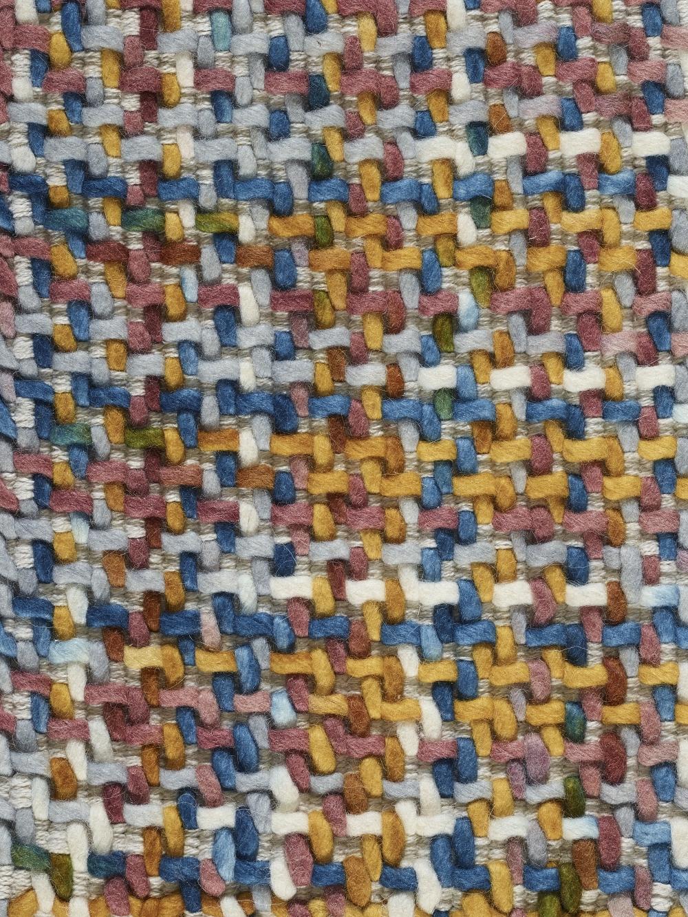 Covor rustic tesut manual Morrison Multicolor imagine 2021