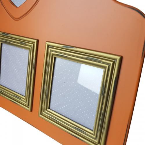 Rama foto multipla Orange L50