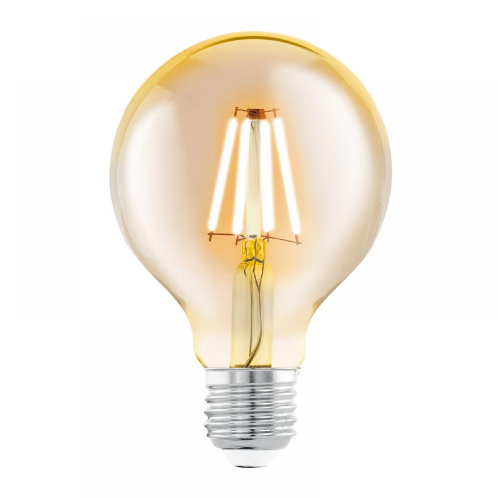 Bec decorativ LED LED E27 4W 2200K imagine 2021 insignis.ro