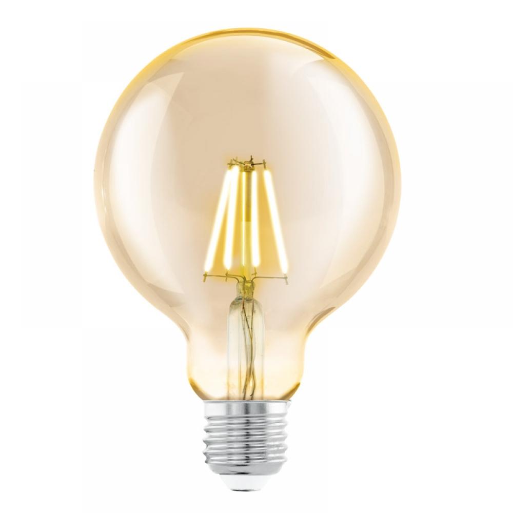 Bec LED decorativ LED E27 4W 2200K imagine 2021 insignis.ro