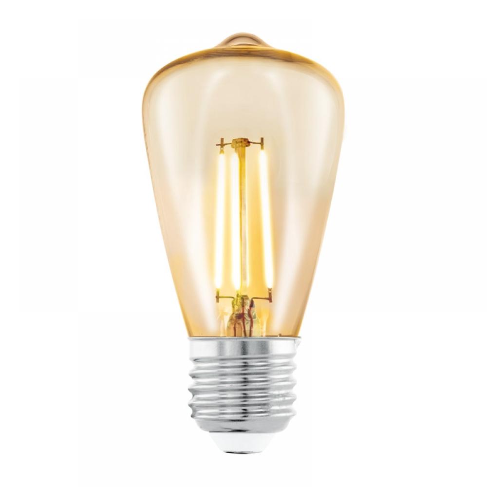 Bec decorativ LED LED E27 3.5W 2200K imagine 2021 insignis.ro