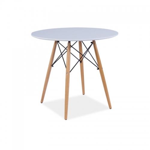Masa rotunda Eames D90