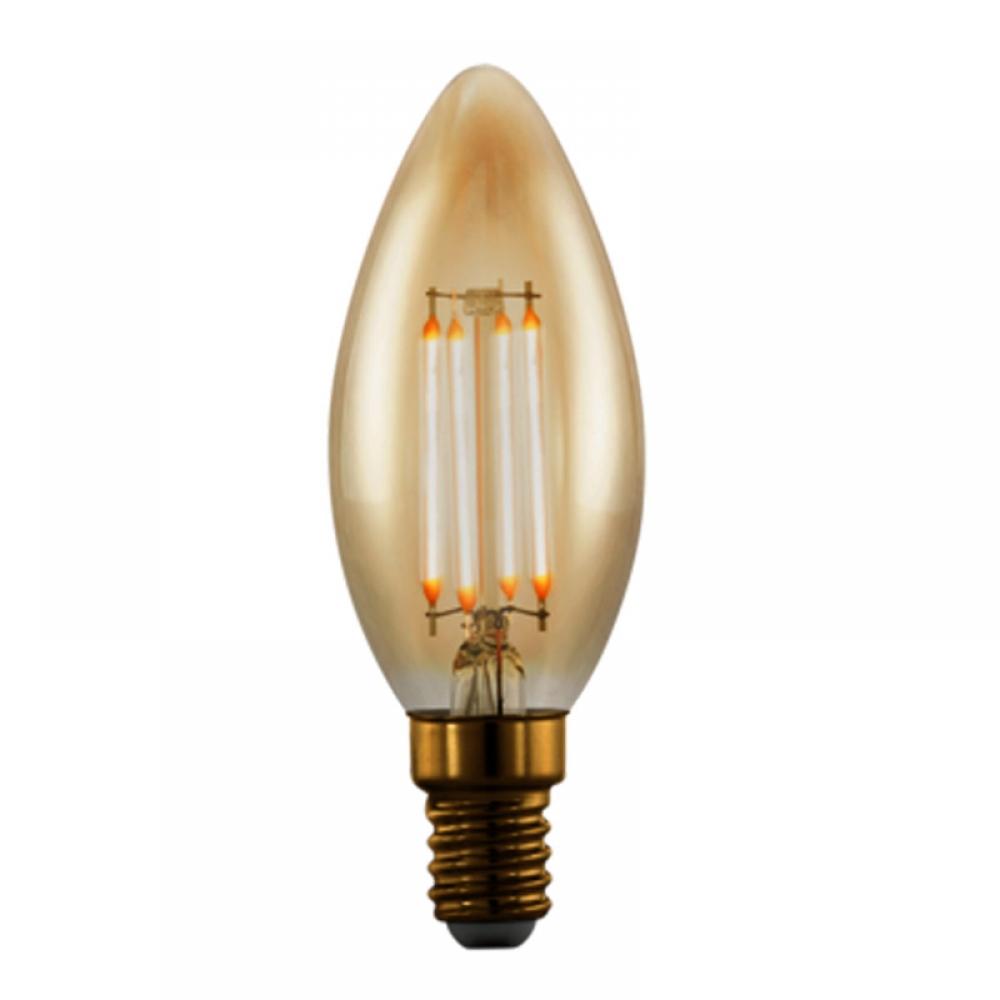 Bec dimabil LED E14 4W 1700K imagine 2021 insignis.ro