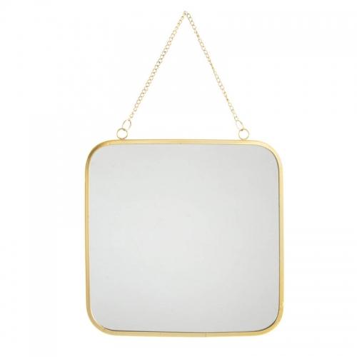 Oglinda Dorado patrata 25X25