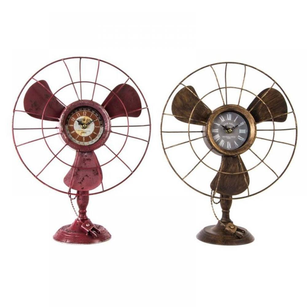 Ceas ventilator H41 cm roz( 507824)