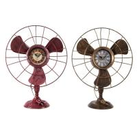 Ceas ventilator H41 cm 2 sortimente roz