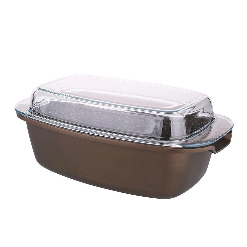 Vas multifunctional pentru cuptor cu invelis ceramic antiaderent 57l Valdinox Aurum imagine 2021 insignis.ro