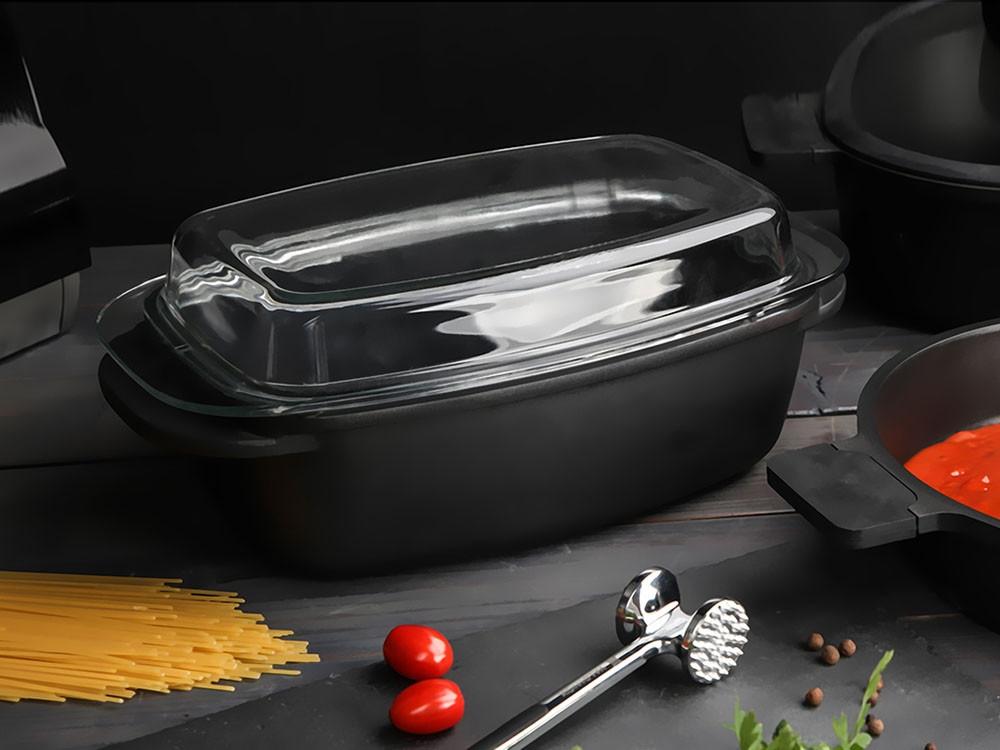 Vas multifunctional pentru cuptor cu invelis Ilag Non-Stick Premium 57l Valdinox Expert imagine 2021 insignis.ro