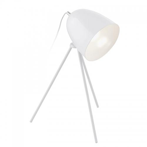 Lampa birou Caiman White H44