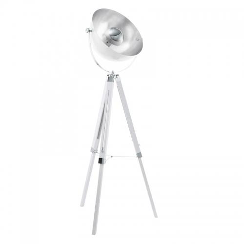 Lampa trepied Valeda argintie H164