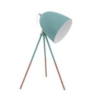 Lampa birou Caiman verde mint H44