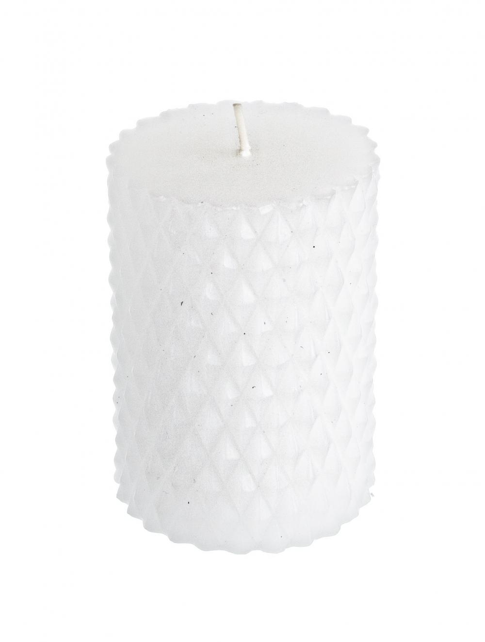 Lumanare decorativa Zoraide alb imagine 2021 insignis.ro