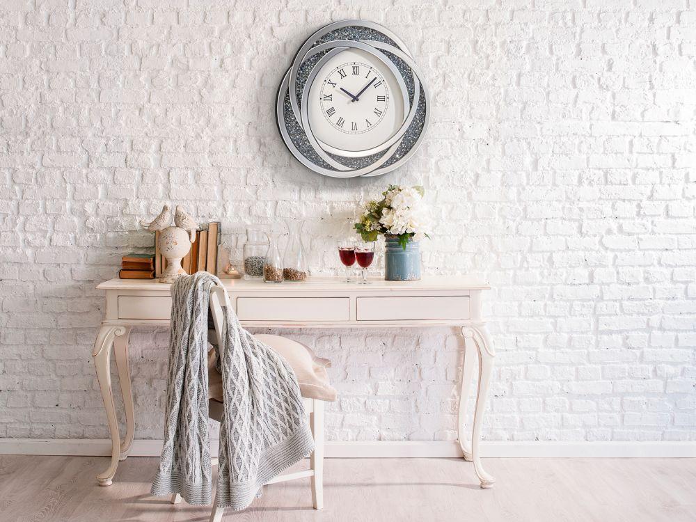 Ceas decorativ de perete Ananya D58cm imagine 2021 insignis.ro