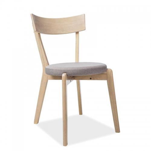 Scaun din lemn tapitat Acropole