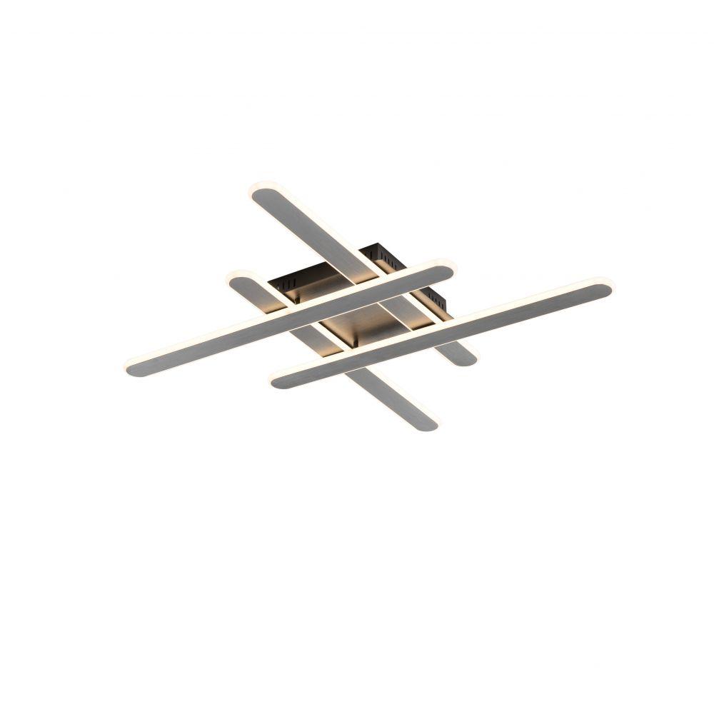 Plafoniera LED Yoga 48W gri titan imagine 2021 insignis.ro