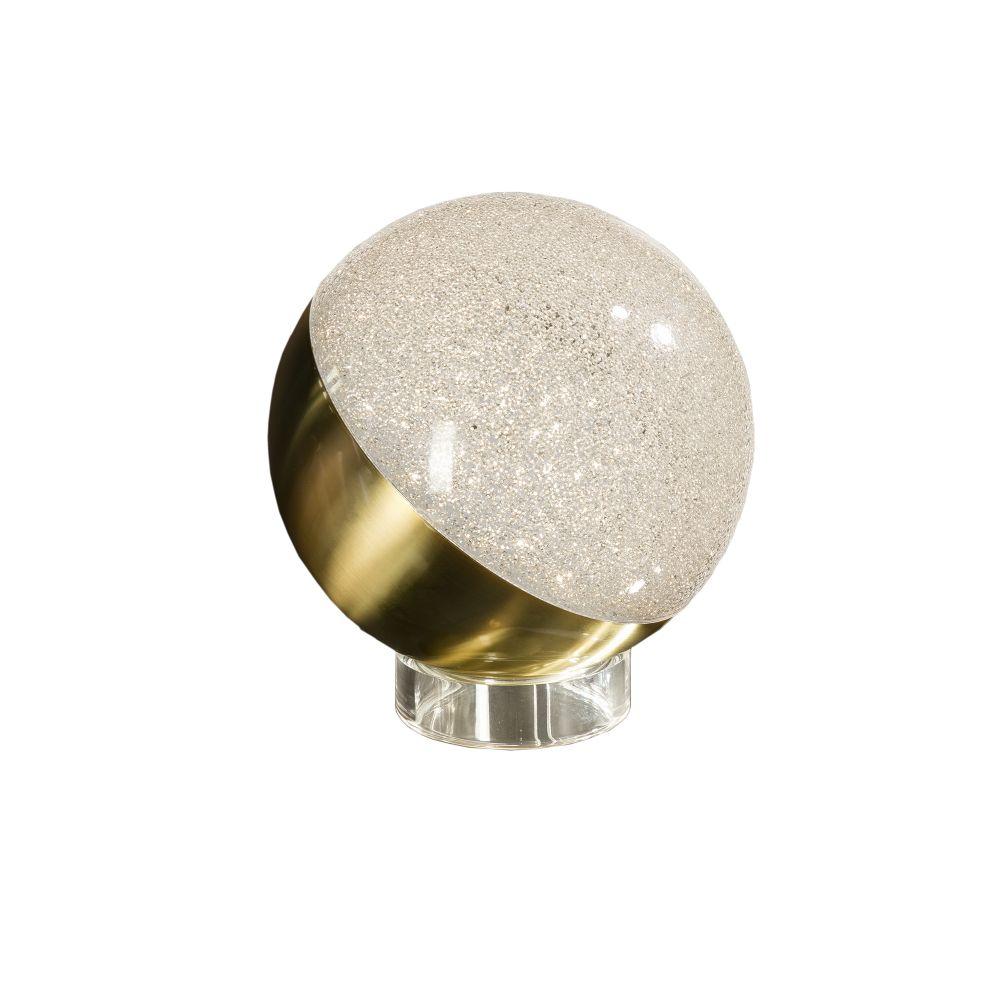 Veioza LED Sphere D20cm auriu imagine 2021 insignis.ro