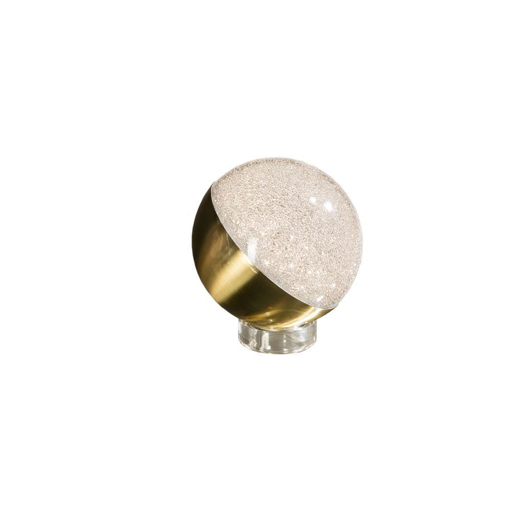 Veioza LED Sphere D12cm auriu alama imagine 2021 insignis.ro