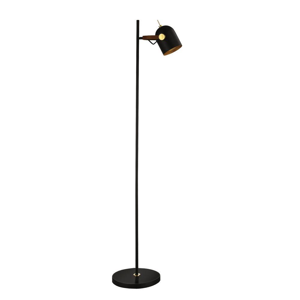 Lampa de podea Adame H148cm 1x7W dimmabil negru imagine 2021 insignis.ro