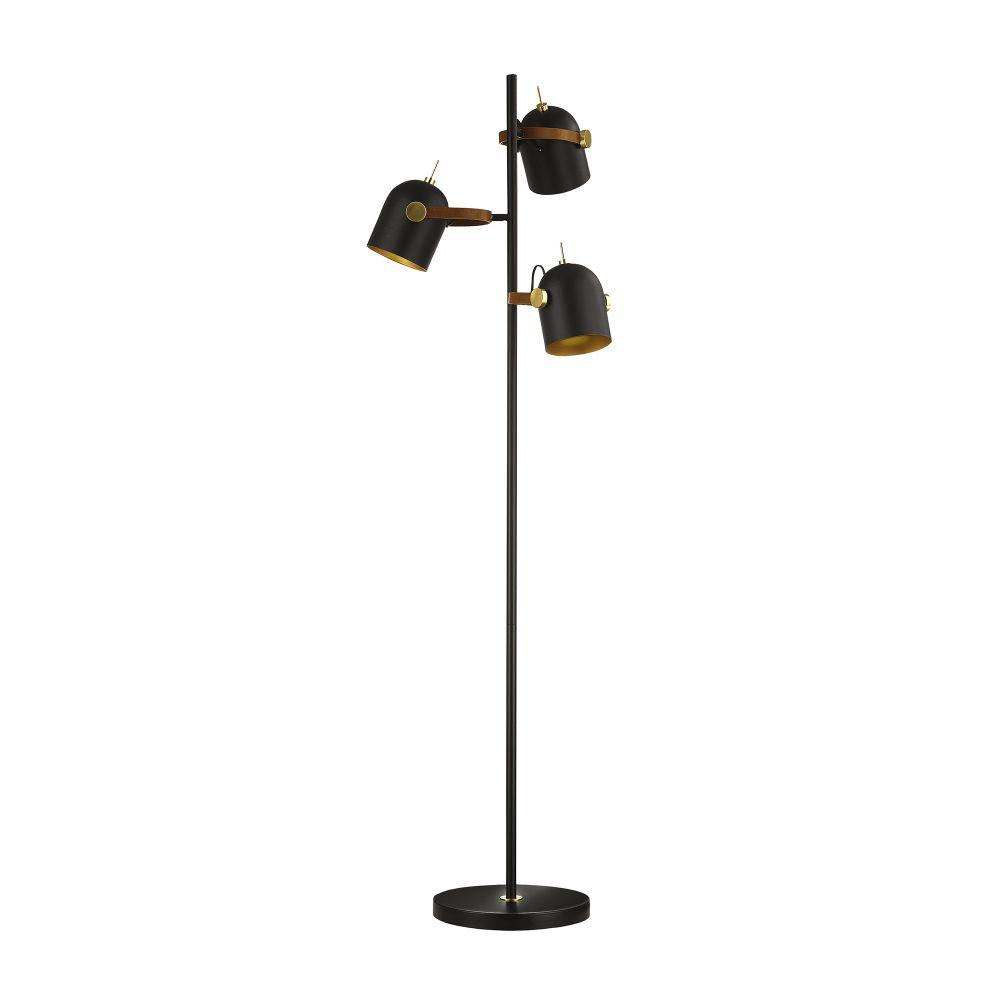 Lampa de podea Adame H148cm 3x7W dimmabil negru imagine 2021 insignis.ro