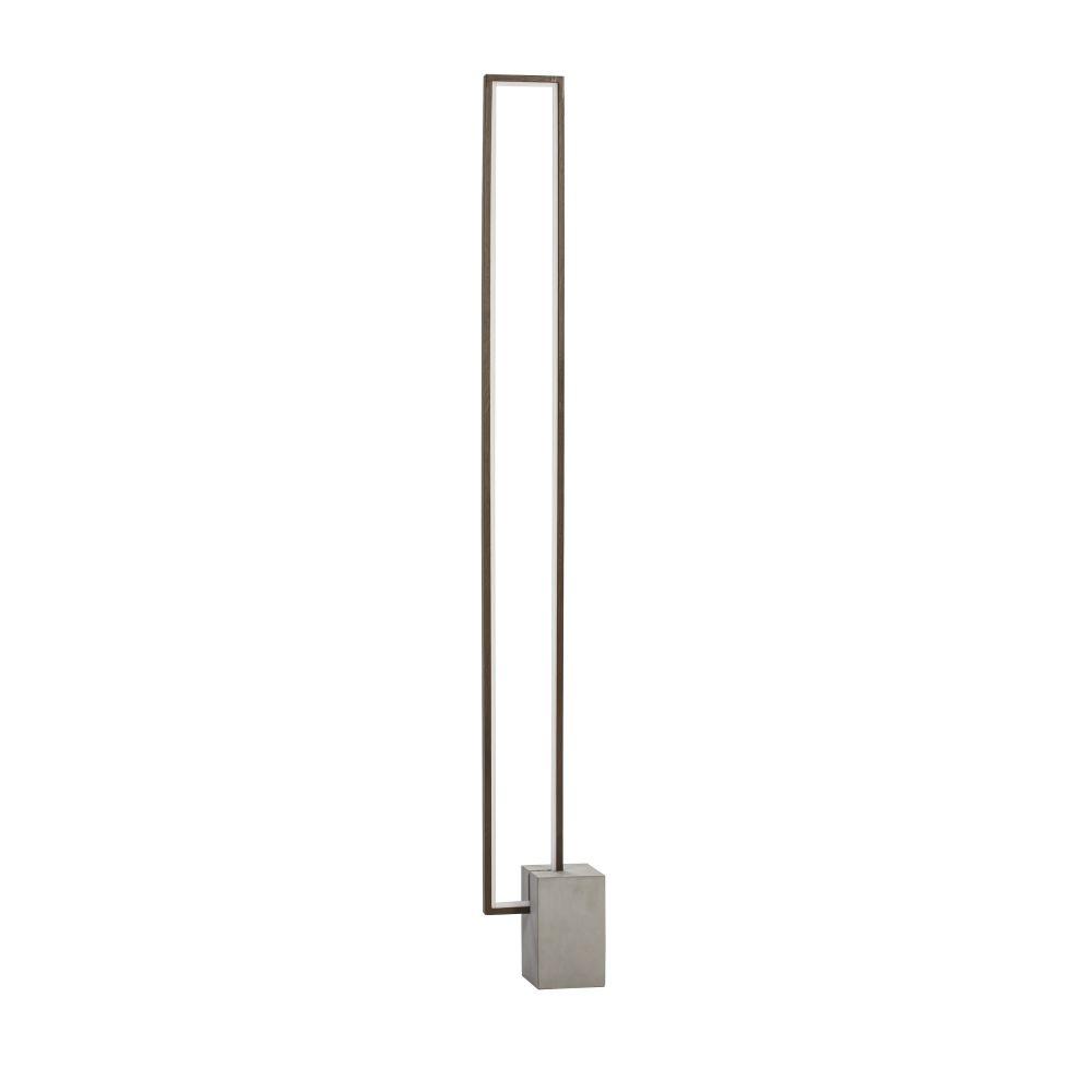 Lampa de podea LED Limit 22W H146cm maro