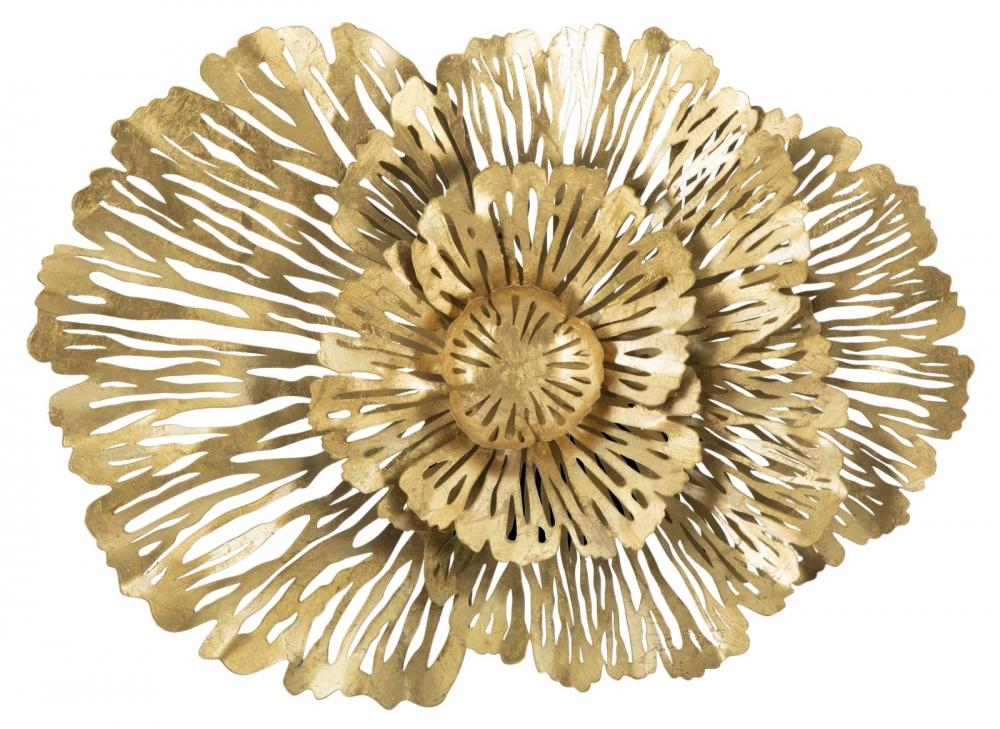 Decoratiune metalica de perete Ibis auriu imagine 2021 insignis.ro