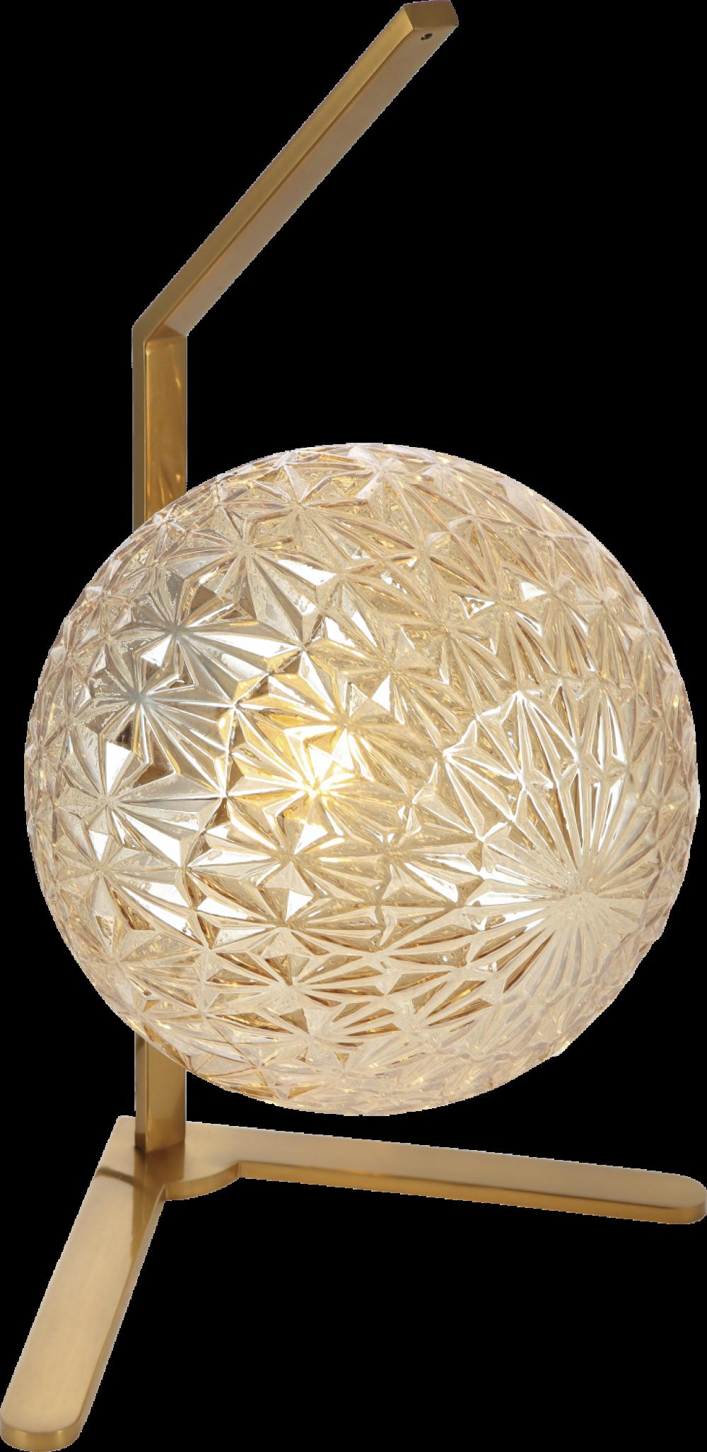 Veioza JUNO ambra si auriu H50xL283xW25 cm imagine 2021