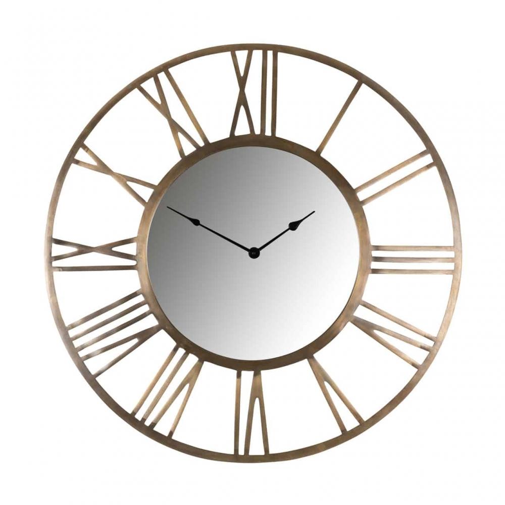 Ceas de perete Richmond Kaelyn D75cm auriu periat