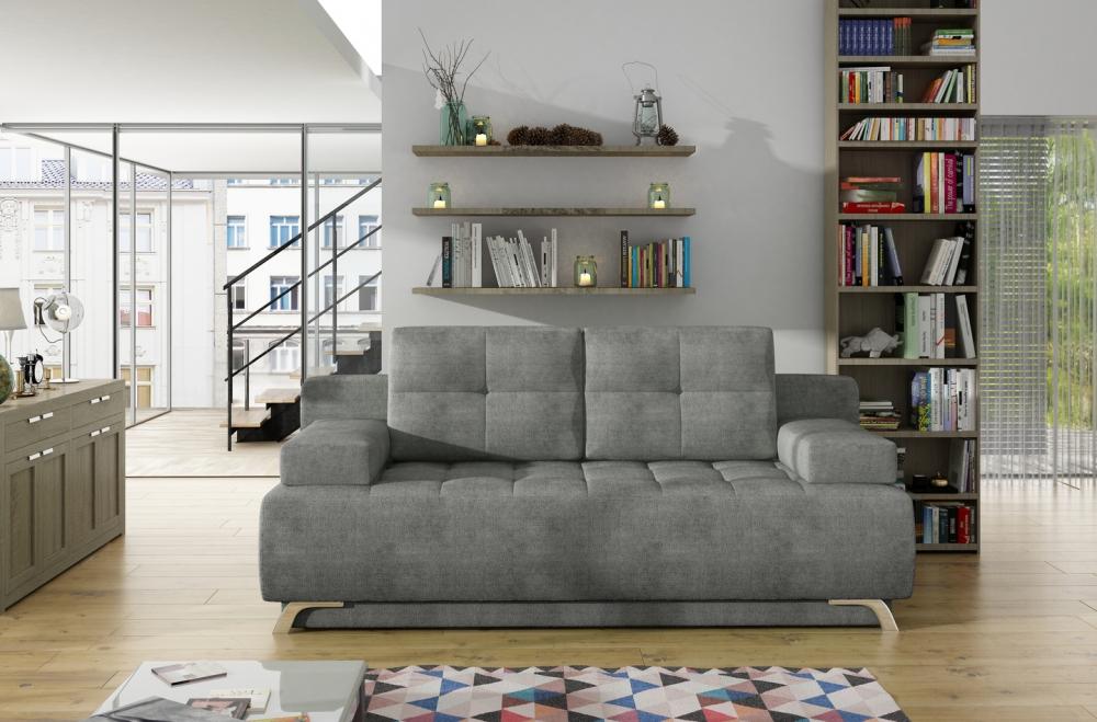 Canapea extensibila Oslo cu lada depozitare L197cm imagine 2021 insignis.ro