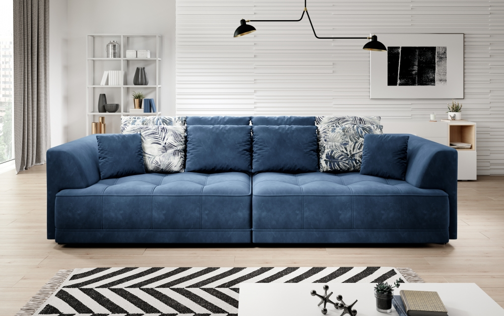 Canapea Tiga cu 2 scaune retractabile electric L302cm imagine 2021 insignis.ro