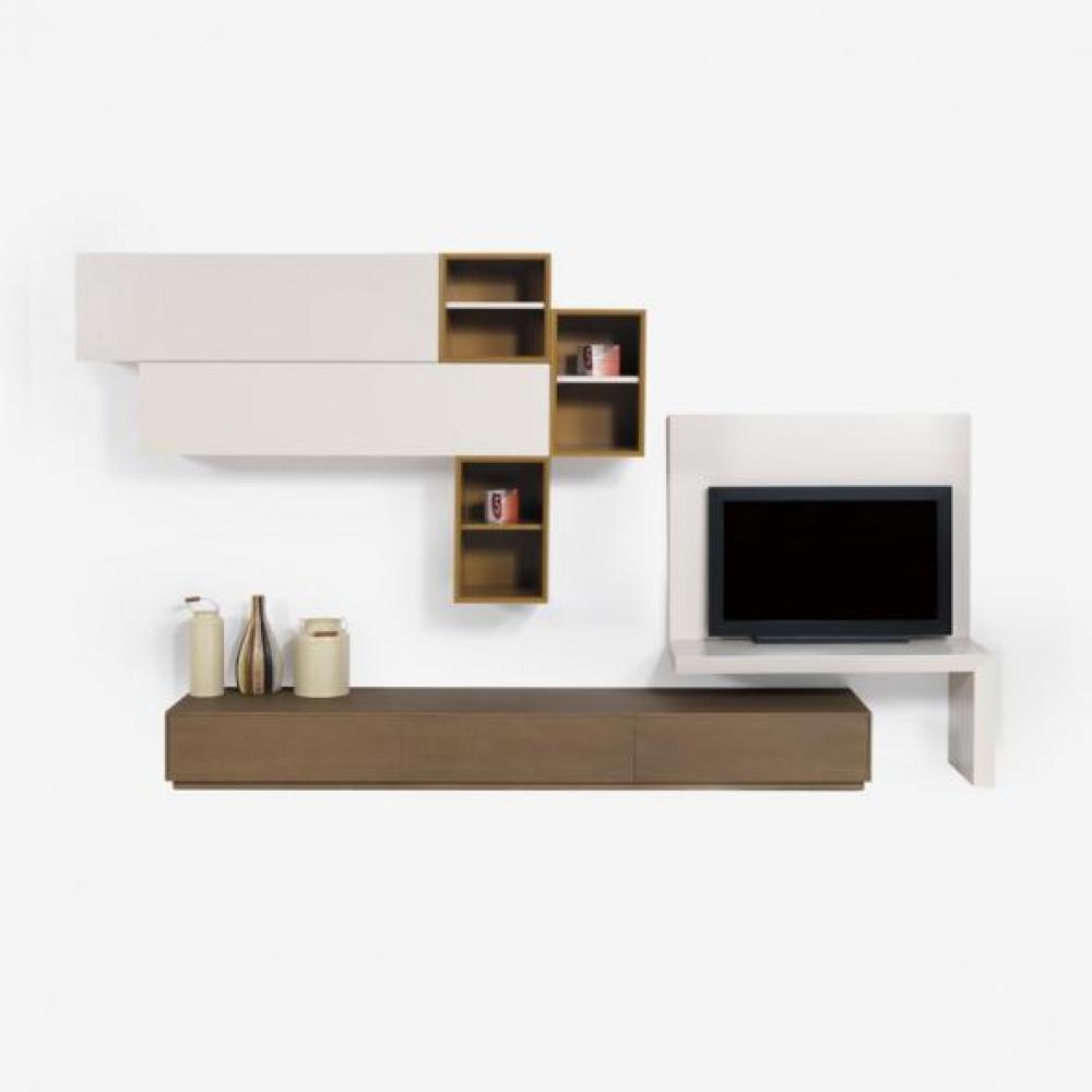Set mobilier living 3 piese din lemn de frasin Emma L240cm imagine 2021 insignis.ro