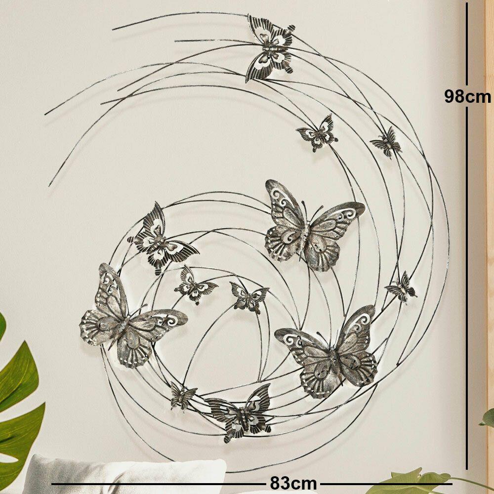 Decoratiune perete fluturi H98 imagine 2021 insignis.ro