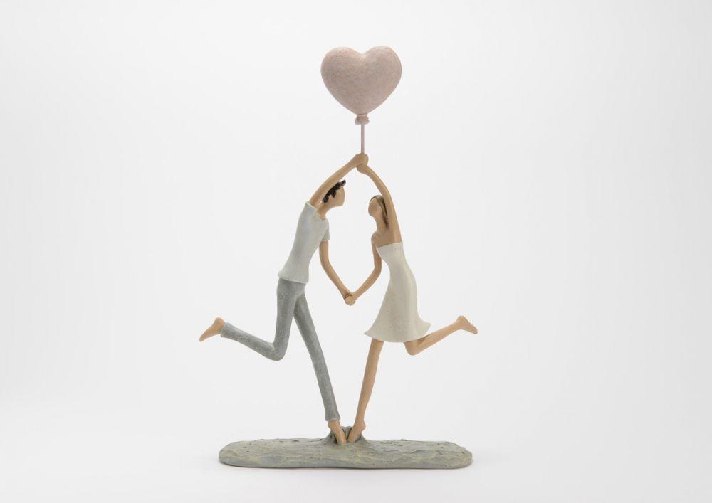 Figurina decorativa Couple 24x35x65cm imagine 2021 insignis.ro