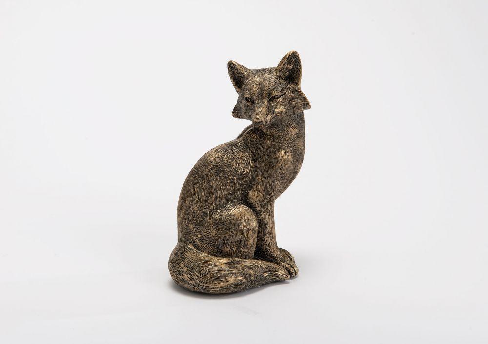 Statueta decorativa Fox H19cm imagine 2021 insignis.ro