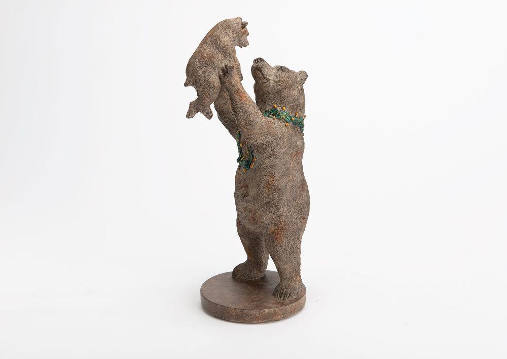 Figurina decorativa Bear H31.5cm imagine 2021 insignis.ro