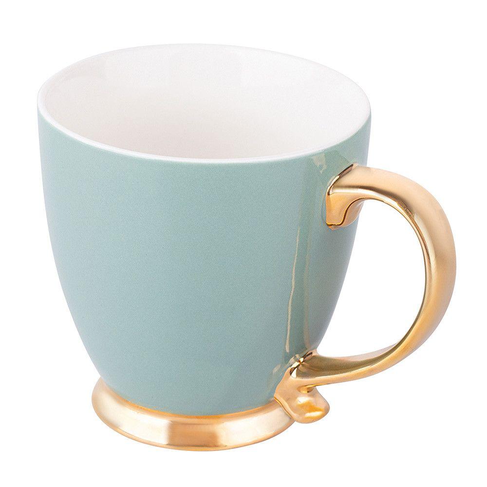 Cana ceai/cafea din portelan Urban Gold 400ml Smokey imagine 2021 insignis.ro