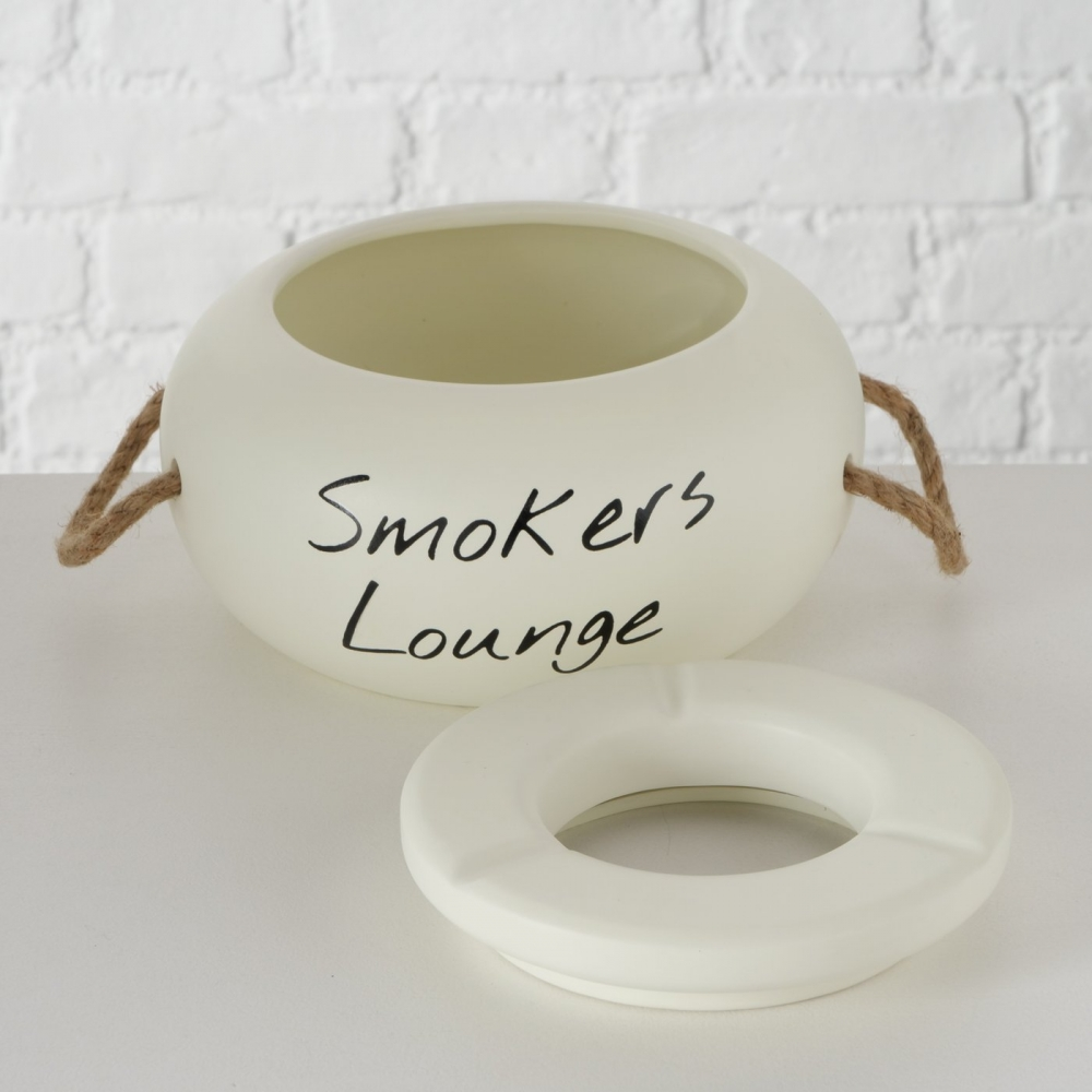 Scrumiera de exterior din ceramica Smokers Lounge imagine 2021 insignis.ro