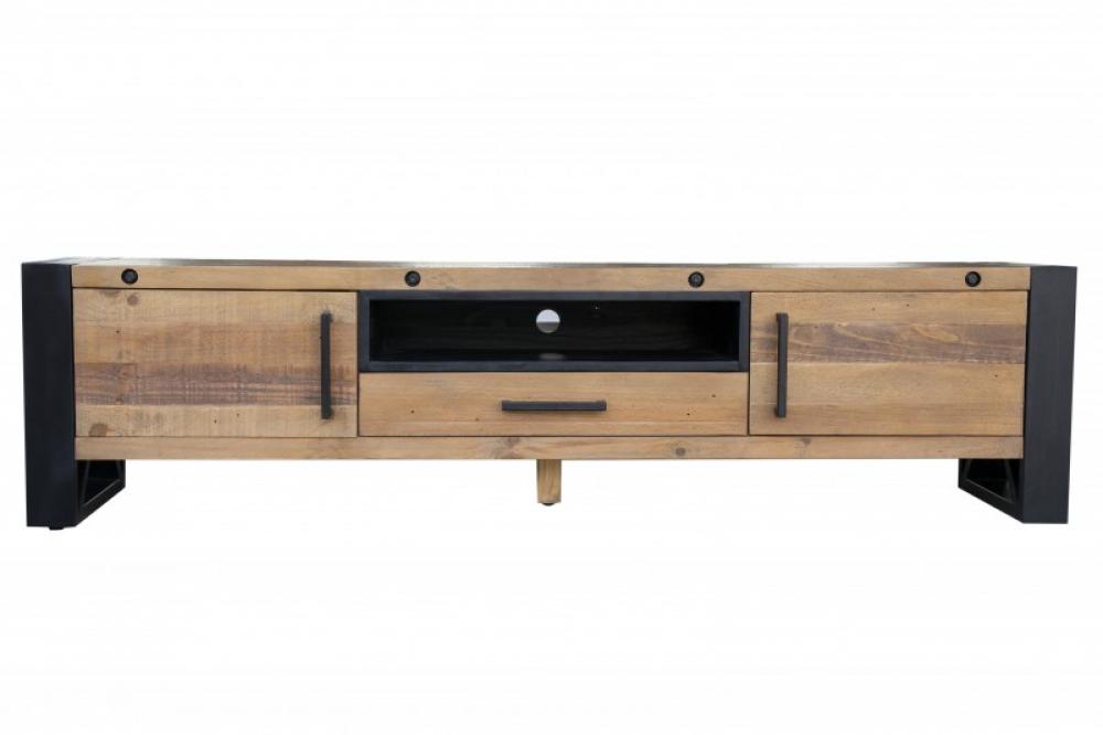 Comoda TV din lemn masiv de pin Thor L200cm imagine 2021 insignis.ro