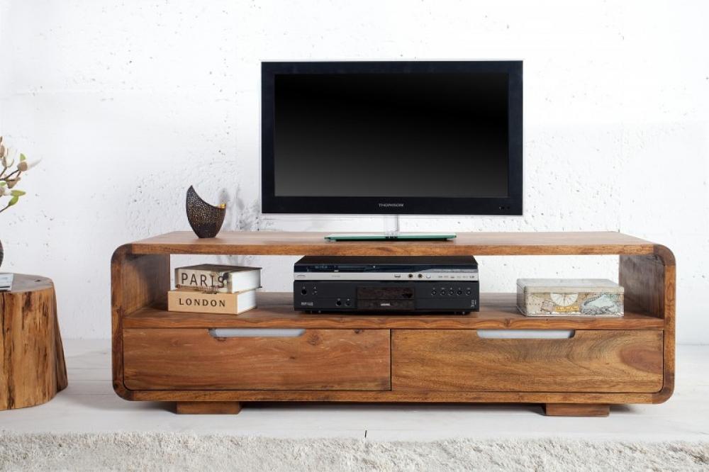 Comoda TV din lemn de palisandru Goa L130cm imagine 2021 insignis.ro