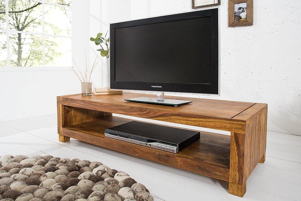 Comoda TV din lemn de palisandru Madeira L110cm imagine 2021 insignis.ro