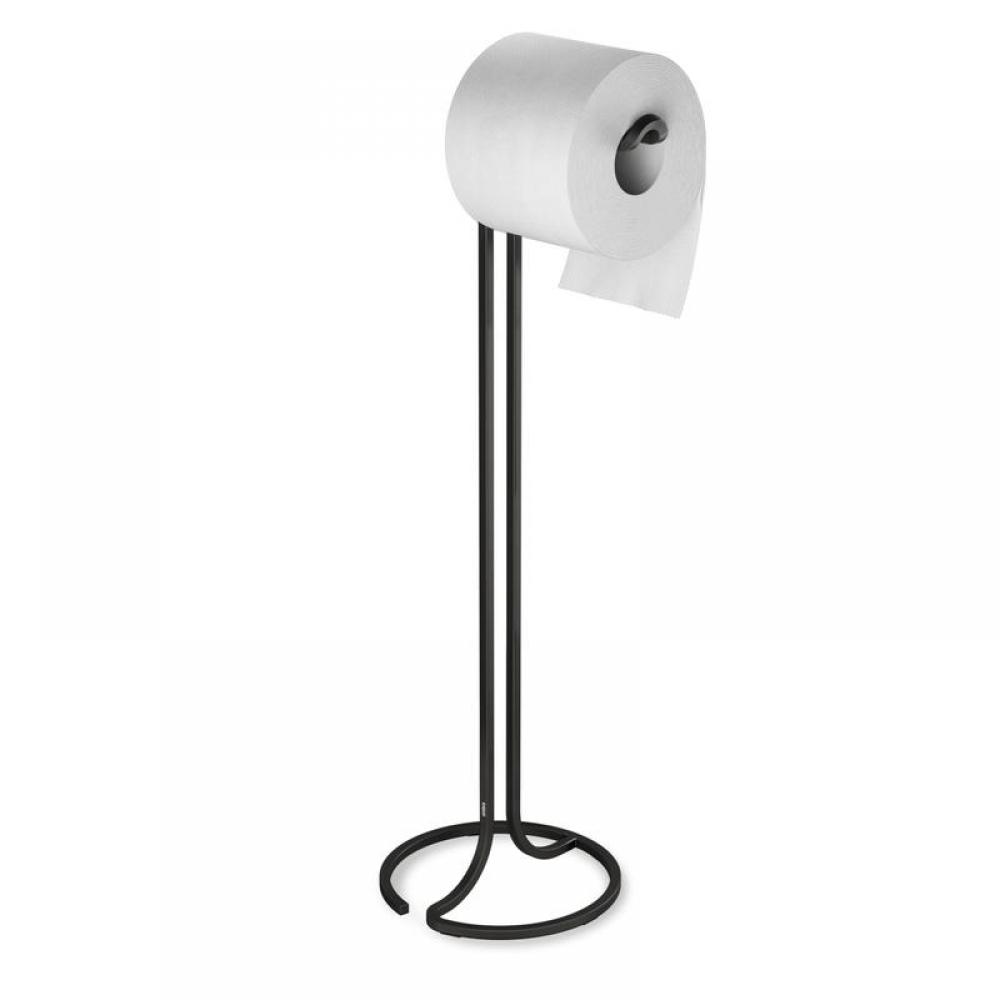 Suport metalic pentru hartie igienica Squire H55cm negru imagine 2021 insignis.ro