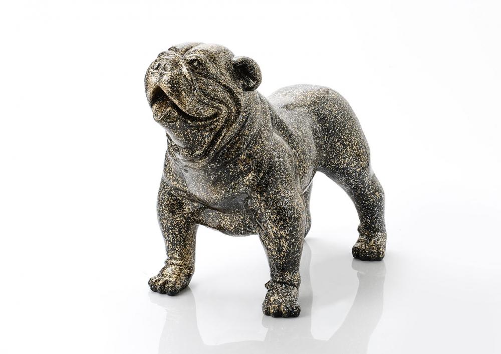 Statueta decorativa pentru interior si exterior Bulldog Marcus L108cm